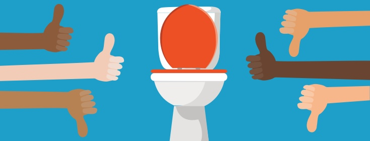 Talking about bowel movements is embarrassing, but you've got to do it