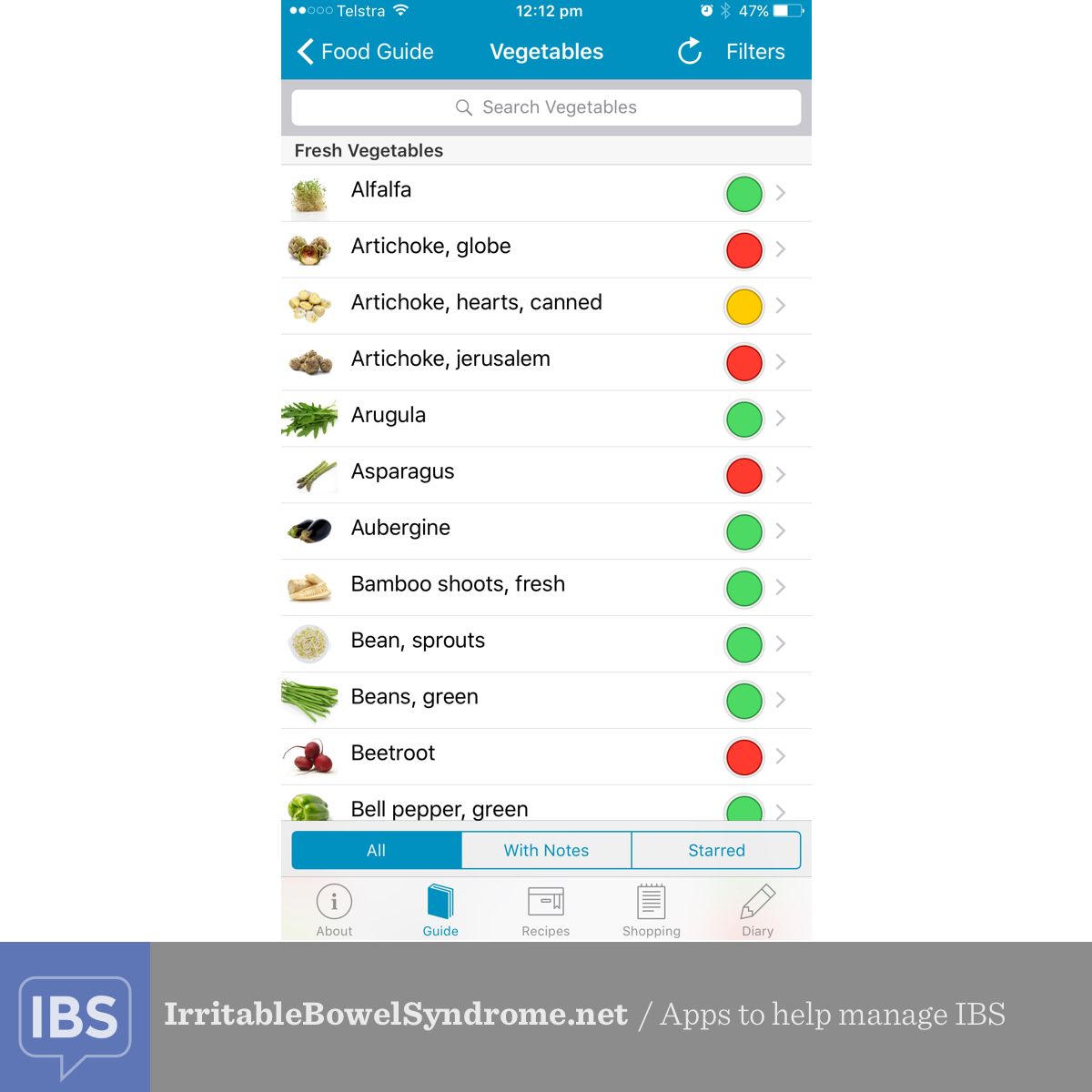 Apps to help manage IBS