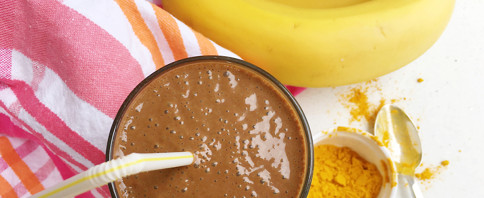 Chocolate Turmeric Smoothie image