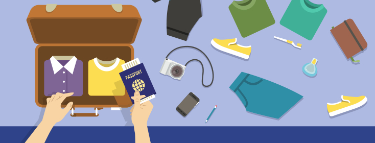 IBS Travel Checklist: Packing for your trip