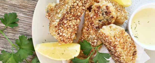 Quinoa Fish Sticks image