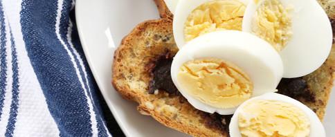Eggs and Miso on Toast image