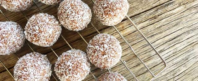 Coconut Pecan Bliss Balls image