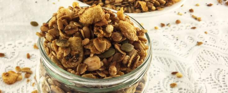 Low FODMAP Crunchy Muesli