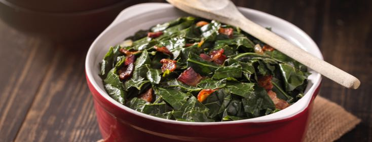 IBS-Friendly Collard Greens for the Holidays