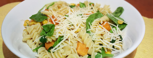 Parmesan Sweet Potato Pasta image