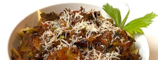 Chicken Sausage & Kale Pasta image