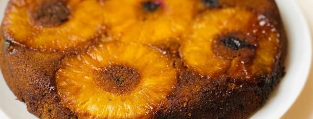 Gluten-Free Upside Down Pineapple Ginger Cake image