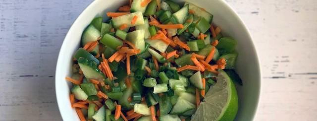 Sweet Thai Chili Cucumber Salad image
