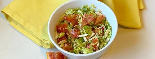 Sesame Asian Brussel Sprout Salad image