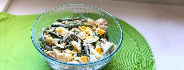 Green Bean Egg Salad image