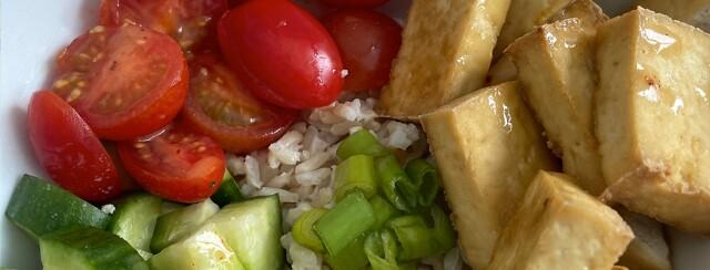 Tofu Power Bowl image