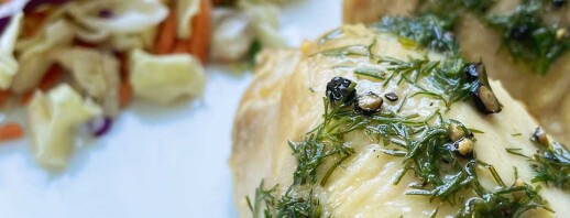 Grilled Chicken Thighs with Dill Chimichurri image