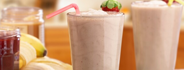 Peanut Butter Jelly Time Smoothie image