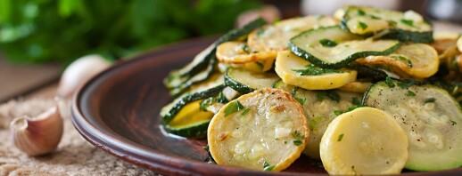 Squash and Zucchini Sauté image